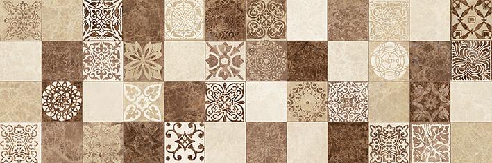 Libra Плитка настенная мозаика коричневый 17-30-11-486 20х60 – купить керамическую плитку по цене 1290.00 руб в Москве